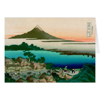 36 Views of Mount Fuji, Hokusai Fine Vintage Note Card