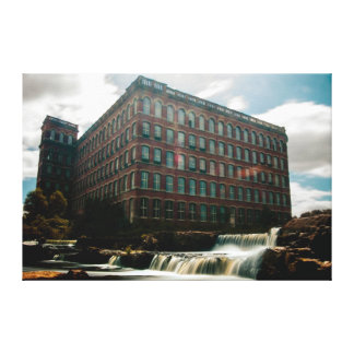 36 x 24 Canvas of HIstoric Victorian Paisley Mill Canvas Print