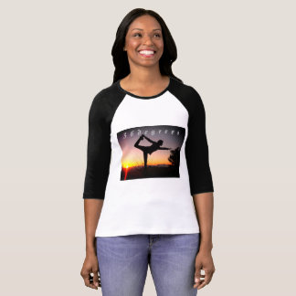 36degrees women's 4/3 sleeve t-shirt