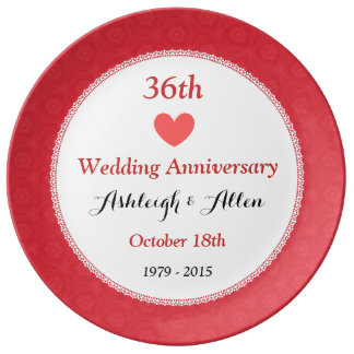 36th Wedding Anniversary GiftsT-Shirts, Art, Posters & Other Gift ...