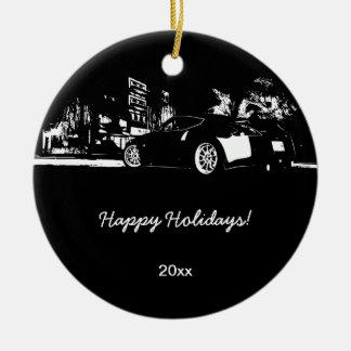 370Z rear shot Christmas Ornaments