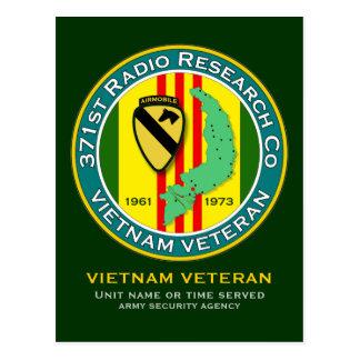 371st RRC 1 - ASA Vietnam Postcard