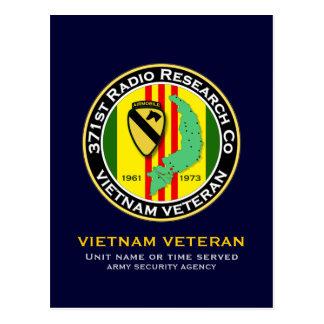 371st RRC 2 - ASA Vietnam Postcard