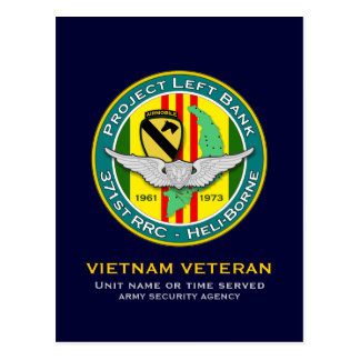 371st RRC PLB 2 - ASA Vietnam Postcard