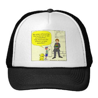 375 sister offered 5 bucks cartoon trucker hat