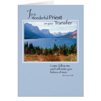 3767 Priest Transfer, Mountain Lake Greeting Card