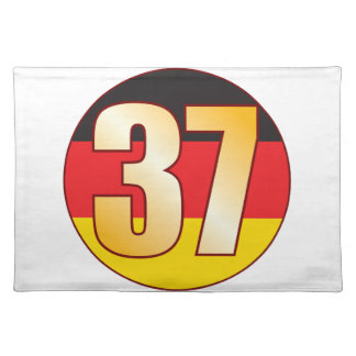 37 GERMANY Gold Placemat