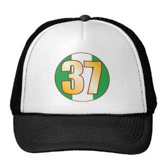 37 NIGERIA Gold Cap