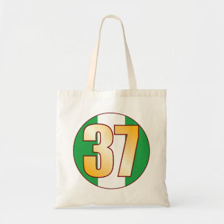 37 NIGERIA Gold Tote Bag