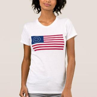 37 Star Medallion US Flag Tshirt