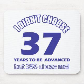 37  years advancement mousepad