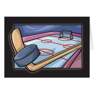 3815 Ice Hockey Birthday Greeting Card