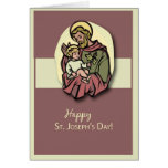 3818 St. Joseph's Day Greeting Card