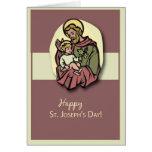 3818 St. Joseph's Day Greeting Card