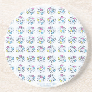 384 Balloons  Variation Number Drink Coasters