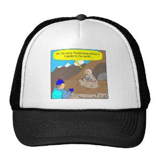 384 guru fundrasiing advice cartoon cap