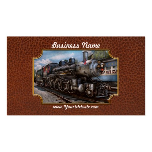 385 - Train - Steam - 385 Fully restored Business Cards