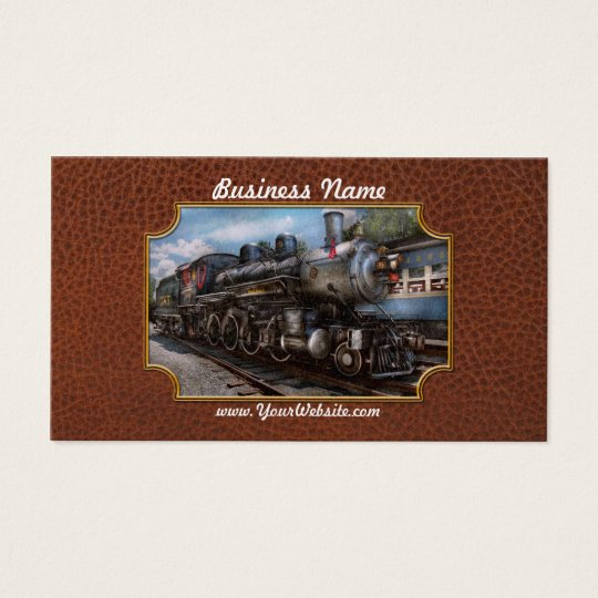 385 - Train - Steam - 385 Fully restored Business Card