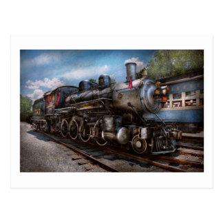 385 - Train - Steam - 385 Fully restored Postcard