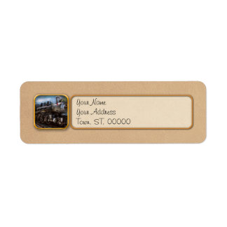 385 - Train - Steam - 385 Fully restored Return Address Label