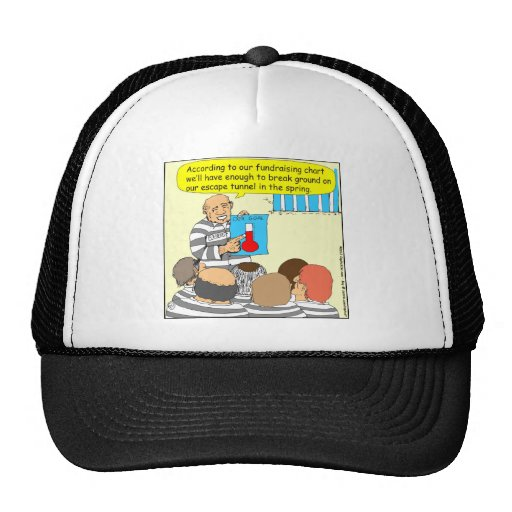 387 fundraising in jail cartoon hats