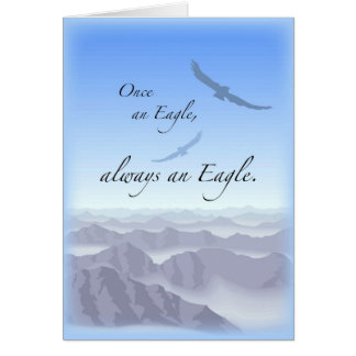 3897 Once an Eagle Greeting Cards