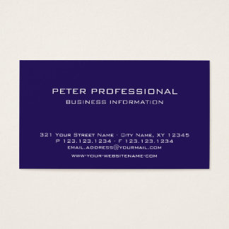 38 Modern Professional Business Card plum color