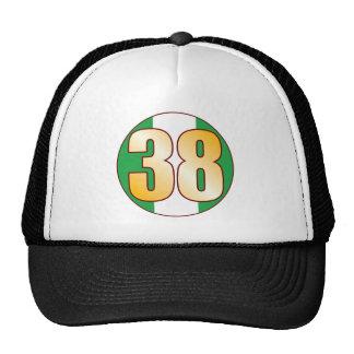 38 NIGERIA Gold Cap