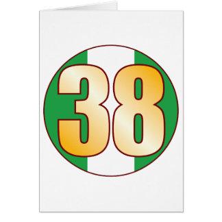 38 NIGERIA Gold Card