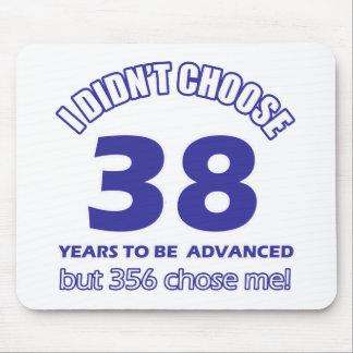 38 years advancement mousepad