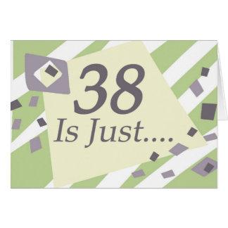 38th Birthday Cards