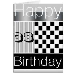 38th Birthday Greeting Card