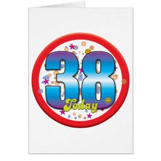 38th Birthday Today v2 Cards
