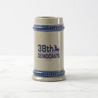 38th  Democrats Stien Logo Coffee Mugs