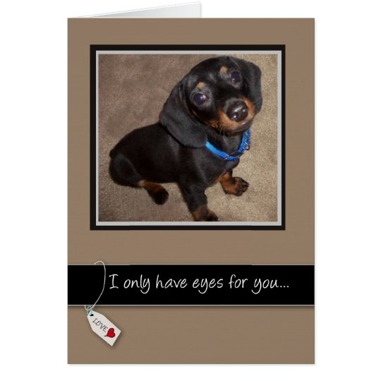 3938 Love You Dog Card