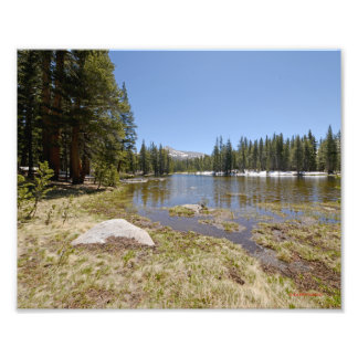 3956 Photo of a lake in the Yosemite park 5/13