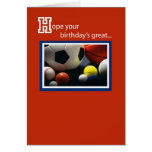3968 Birthday All Sports Greeting Card