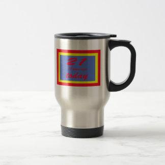 39 birthday travel mug