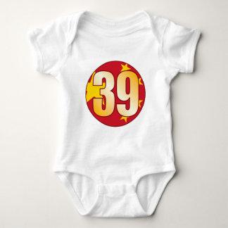 39 CHINA Gold Baby Bodysuit
