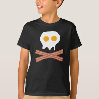 39 Eggs Bacon Skull T-Shirt