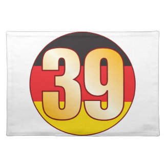 39 GERMANY Gold Placemat
