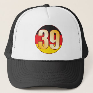 39 GERMANY Gold Trucker Hat