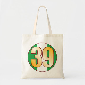 39 NIGERIA Gold Tote Bag
