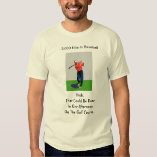 3,000 Hits In Baseball T-shirt
