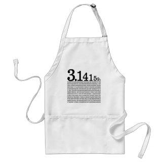 3.1415926 Pi Apron