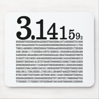3.1415926 Pi Mouse Pads
