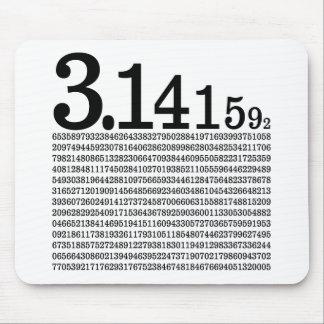 3.1415926 Pi Mouse Pad