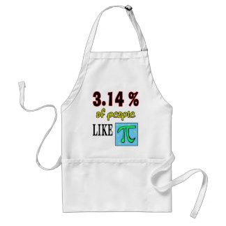 3.14likepi standard apron