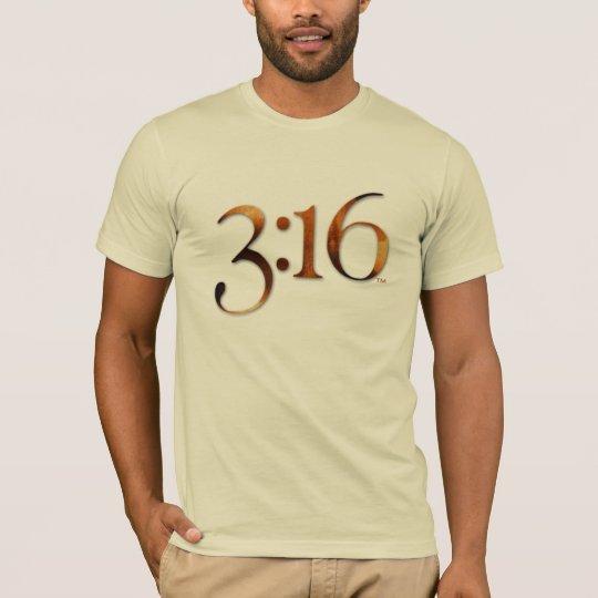 3:16 Logo T T-Shirt