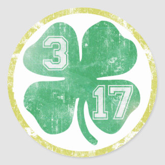 3 17 St Patricks Day Sticker